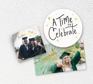 Design personalized graduation stickers