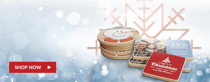 colorful, festive holiday custom cookies