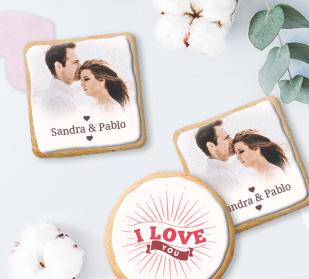 Create custom photo cookies