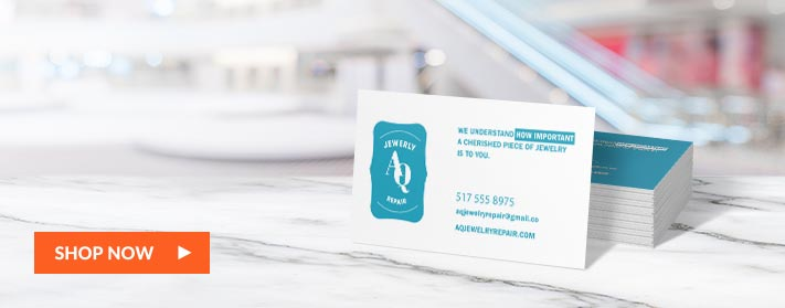 Create branded business cards