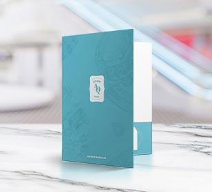 Create Custom Pocket Folders