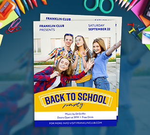Back to School Flyers help get the word out