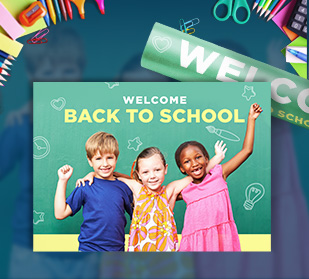 Say it loud and proud with back to school posters