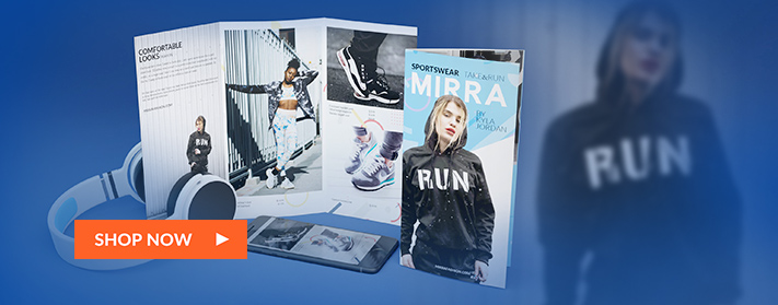 Professional brochures customized to your needs and preferences