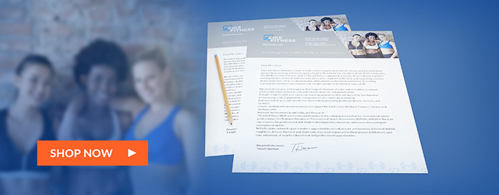 Create branded letterhead for your business