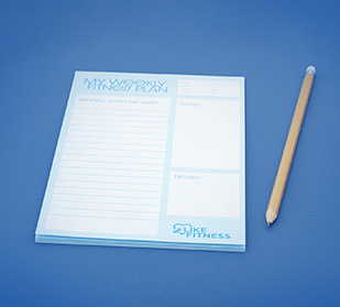 Personalize every note...