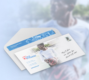 Design custom envelopes for Small Business Week