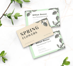 shop Business Cards