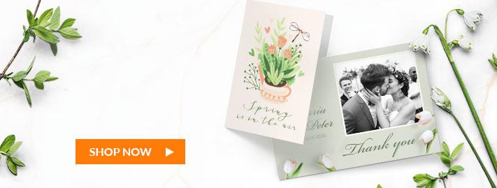 shop custom greeting cards