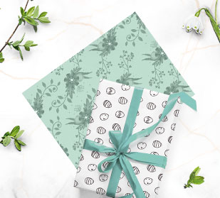 Design custom wrapping paper