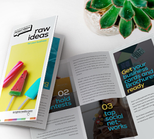 create informative brochures