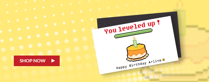 birthday magnets to level up - create custom magnets in a number of different sizes