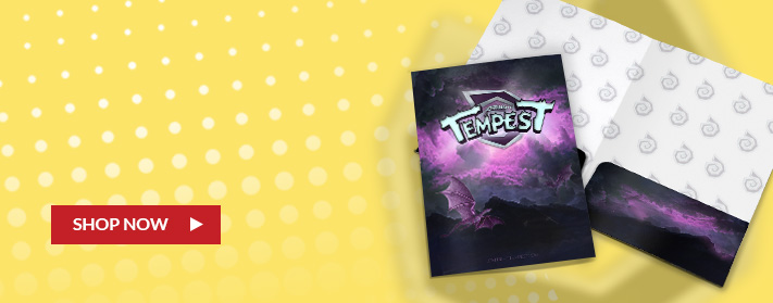 super hero themed custom pocket and presentation folder for cosplay events and comic con