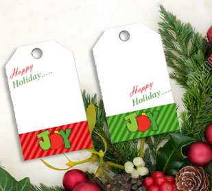Christmas themed gift cards