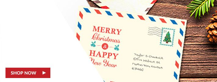 Christmas Sandwich Postcards