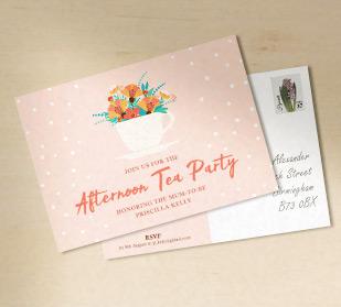 personalised custom invitation card
