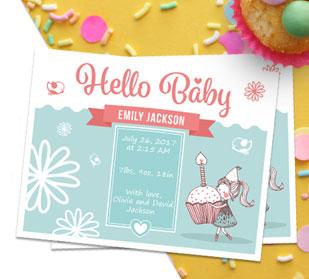 Custom Sandwich Baby Postcards