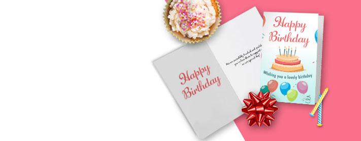 Custom Birthday Greeting Cards
