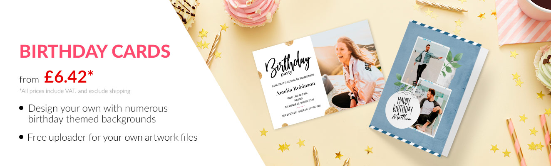 beautiful custom postcard birthday cards