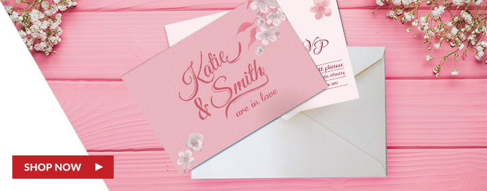 custom pre-designed wedding envelopes
