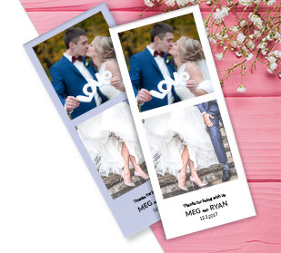 Wedding Announcement Place Cards